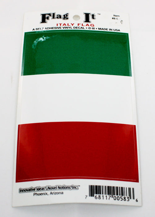 Italian Flag Car Decal