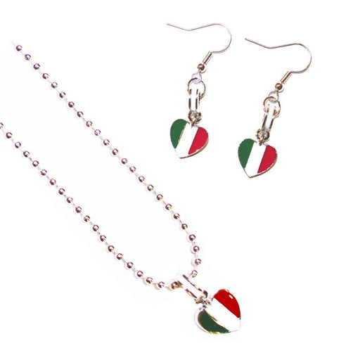 Italia Jewelry Set – Necklace & Earrings