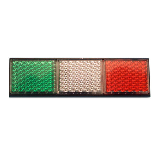 Italian Flag Car Reflector