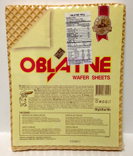 Karolina Wafer Sheet, 150g