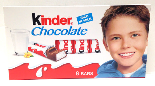 Kinder Chocolate, 8 bars, 100g