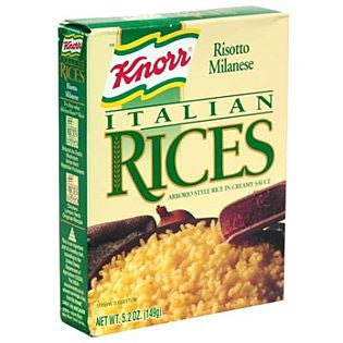 Knorr Italian Rices, Risotto Milanese, 149g