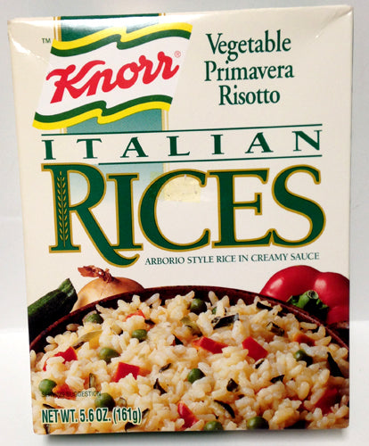 Knorr Vegetable Primavera Risotto, 161g