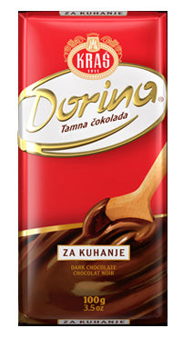 Kras Dorina Dark Chocolate Bar, 100g