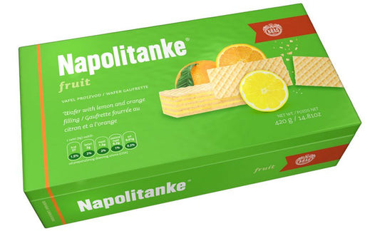 Kras Napolitanke Fruit Wafers, 420g