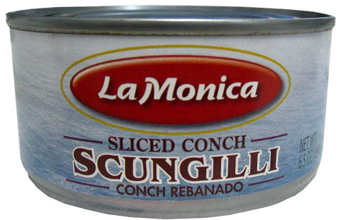 LaMonica Scungilli Sliced Conch, 6.5 OZ. Can