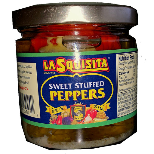 La Squisita Sweet Stuffed Peppers, 8 oz (273ml)