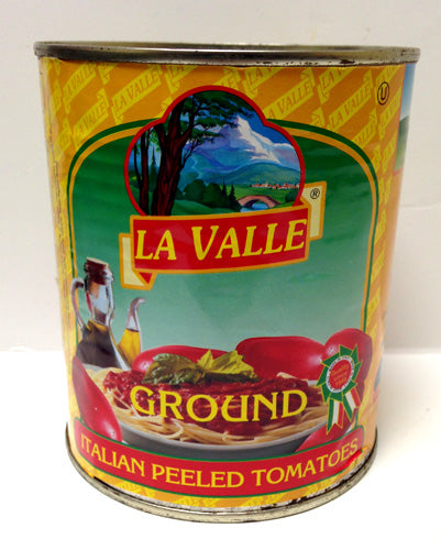 La Valle Ground Italian Peeled Tomatoes, 28 oz