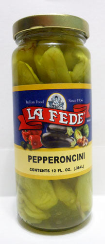 La Fede Pepperoncini Peppers 12 oz Jar