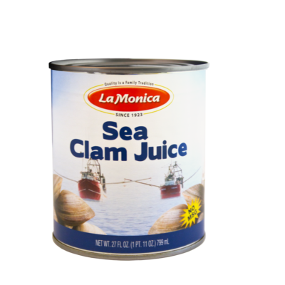 LaMonica Cape May Gourmet Clam Juice, 27 FL oz. can