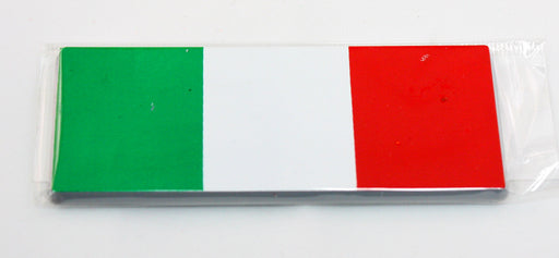 Large Italian Flag Car Sticker