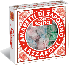 Lazzaroni Soft Amaretti Window Box 6.0 oz