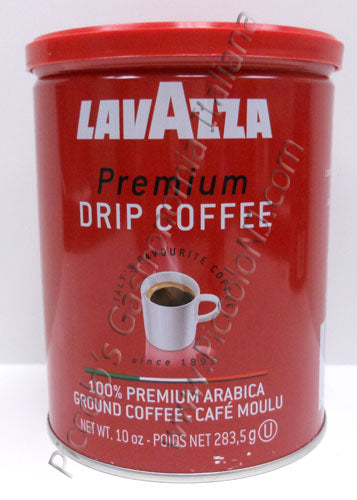 LavAzza Premium Drip Coffee (Ground),  10 oz Can