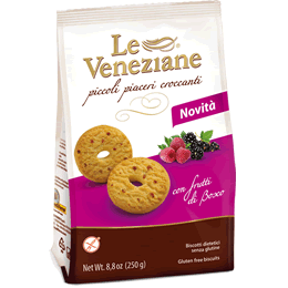 Le Veneziane Gluten Free Cookies with Berries 250g