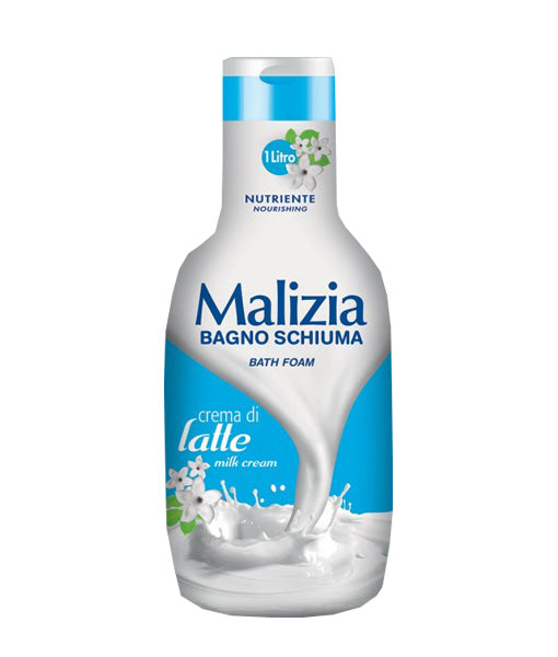 Mirato Malizia Bath Foam Milk Cream, Crema di Latte, 1000ml