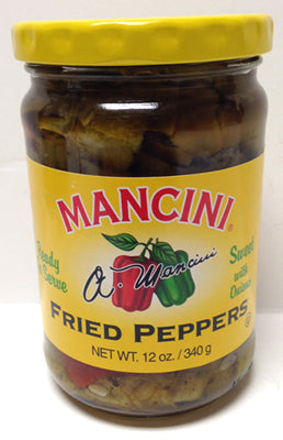 Mancini Fried Peppers, 340g