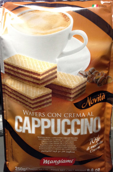 Mangiami  Wafers Cappuccino 250g