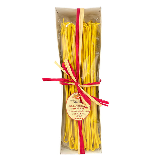 Marella Linguine with Lemon, Organic Pasta from Italy, 8.8 oz