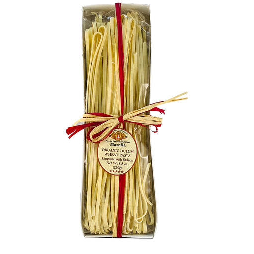 Marella Linguine With Saffron, Organic Pasta from Italy, 8.8 oz