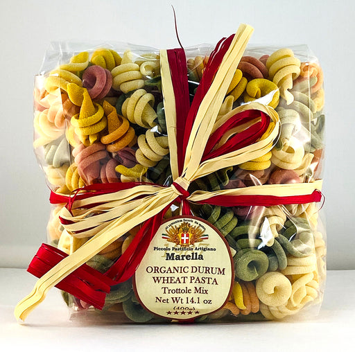 Marella Trottole Mix Organic Pasta from Italy, 14.1 oz