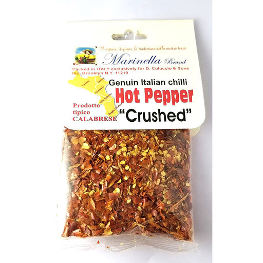 Marinella Genuine Italian Chilli Hot Pepper, Crushed, 1.8 oz | 50g
