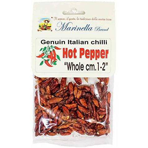 Marinella Genuine Italian Chilli Hot Pepper, 0.9 oz | 25g