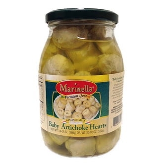 Marinella Baby Artichoke Hearts 40 count, 34.42 oz