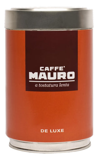 Caffe Mauro Roasted Ground De Luxe, 250g Can
