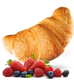 Melegatti Gran Leggeri Croissant with soft fruitst 9.52 oz