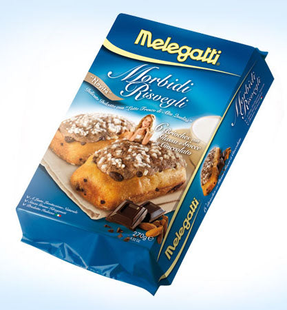 Melegatti Morbidi Risvegli Almond king & choco drops 9.52 oz