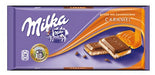 Milka Caramel Chocolate, 100g