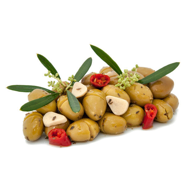 Morabito Etna Cracked Pitted Olives, Olive Schiacciate dell'Etna, 5 lb 1 oz | 2300g