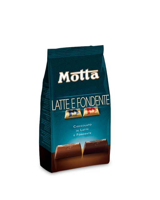 Motta Milk and Dark Chocolate, 5.2 oz