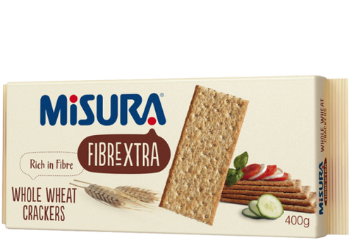Misura Whole Wheat Crackers, 400g