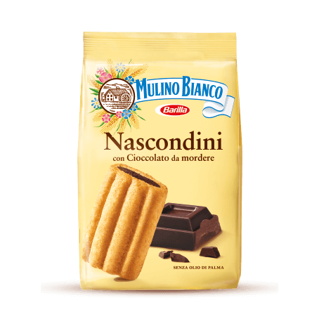 Mulino Bianco Nascondini Cookies with Chocolate, 11.64 oz | 330g