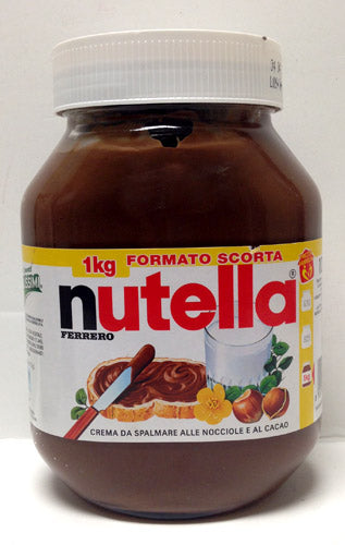 Ferrero Nutella Made in Italy - 1kg