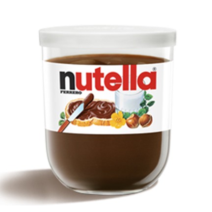 Ferrero Nutella Made in Italy, 7oz (200g) Glass Jar