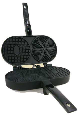 Palmer Electric Pizzelle Iron, Non-Stick Coated