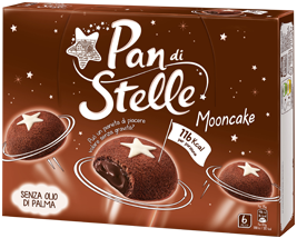 Pan di Stelle Mooncake, 6 pack