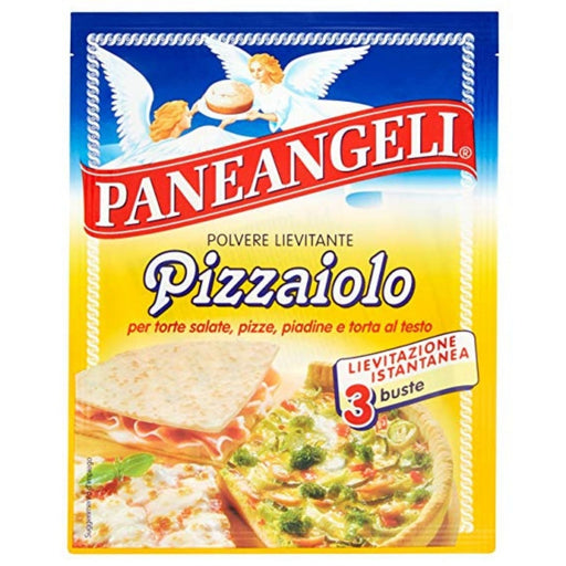 Paneangeli Baking Powder for Baking Pizza, Pizzaiolo, 3 Pack, 45g