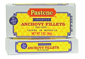 Anchovy Fillets (Wild Caught) - 2oz can