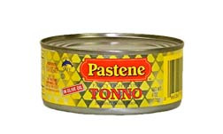 Pastene Tuna (Tonno) 5 oz. can