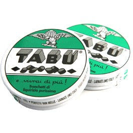 Perfetti Tabu FULL CASE Pure Licorice, 32 Tins