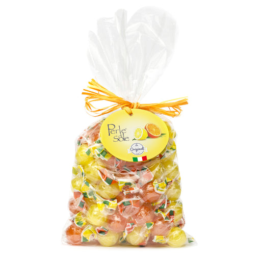 Perle di Sole Assorted Amalfi Lemon & Orange Drops, 17.63 Oz  - 500g