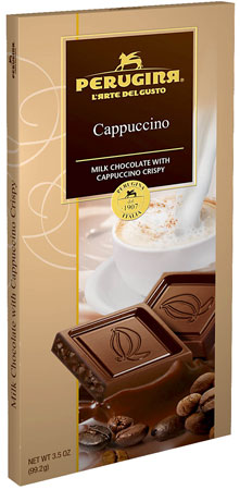 Perugina Milk Chocolate with Cappuccino Crisps Bar 3.5 oz