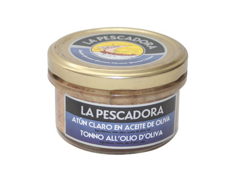La Pescadora Yellowfin Tuna in Olive Oil, 200g Jar