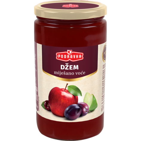 Podravka Mixed Fruit Jam, 30.7 oz - 870g