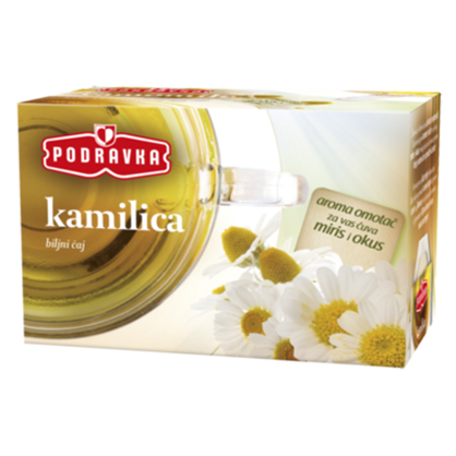 Podravka Camomile Herbal Tea, 20pk - 0.70oz (20G)