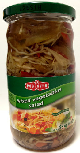 Podravka Mixed Vegetables Salad, 660g