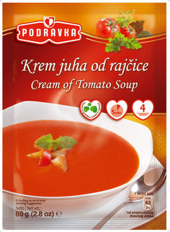 Podravka Cream of Tomato Soup, 80g
